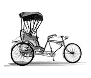 Indian rickshaw cycle Royalty Free Stock Image