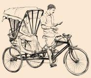 Indian rickshaw Royalty Free Stock Photography
