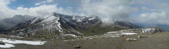 Indian Ridge panorama - Jasper, Canadian Rockies Stock Image