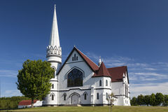 Indian River Church Royalty Free Stock Photography
