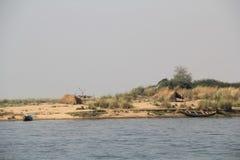 Indian river godavari. Fishing on  river, Godavari ,indian river Stock Images