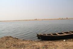 Indian river godavari. Fishing on  river, Godavari ,indian river Stock Image
