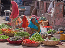 Indian Roadside Vegetables Royalty Free Stock Images
