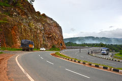 Indian Roadways Royalty Free Stock Images