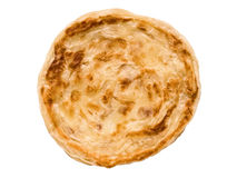 Indian roti prata isolated Royalty Free Stock Images