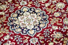 Indian rug detail Stock Photography