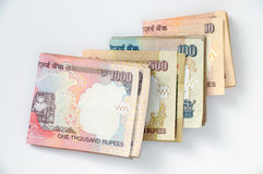 Indian rupee. S currency, paper lagal notes Stock Photos