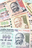 Indian Rupee bank notes Royalty Free Stock Photo