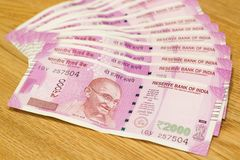 Indian rupee banknotes Stock Photography