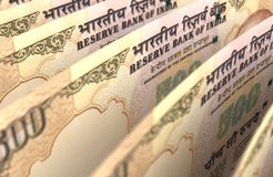 Indian Rupee Closeup Royalty Free Stock Images