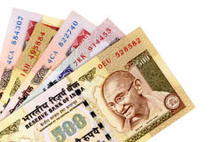 Indian Rupee currency bills Royalty Free Stock Photo