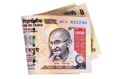 Indian Rupee currency bills Stock Photography