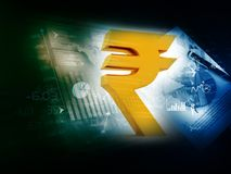 Indian Rupee icon Stock Photo