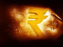 Indian Rupee icon Royalty Free Stock Image