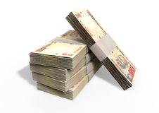 Indian Rupee Notes Pile Royalty Free Stock Photography