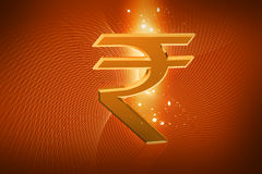 Indian Rupee sign Stock Photos