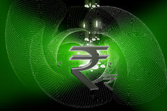 Indian Rupee sign Royalty Free Stock Photo
