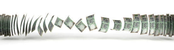 Indian Rupee Transfer Stock Photo