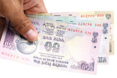 Indian rupee Royalty Free Stock Photo