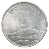 Indian rupees coin Royalty Free Stock Photo