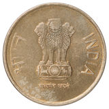 Indian rupees coin Royalty Free Stock Images