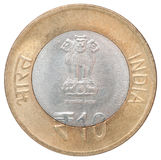 Indian rupees coin Royalty Free Stock Photography