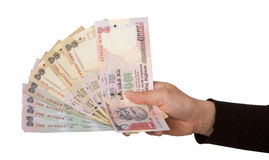 Indian rupees Royalty Free Stock Photos