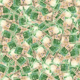 Indian rupees seamless texture Stock Images