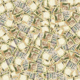 Indian rupees seamless texture stock photography