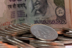 1 Indian Ruppe Stock Images