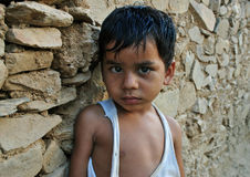 Indian rural boy Royalty Free Stock Photos