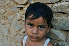 Indian rural boy Royalty Free Stock Images