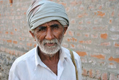 Indian rural farmer Royalty Free Stock Photos