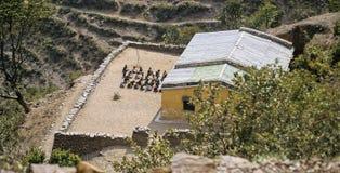 Indian rural school Stock Images