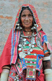 Indian rural woman Stock Photography