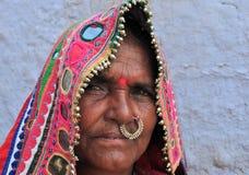 Indian rural woman Stock Photos