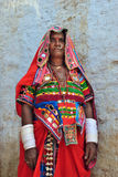 Indian rural woman Royalty Free Stock Photography