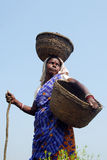 Indian Rural Woman Royalty Free Stock Photo