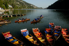 Indian's Famous Lake Stock Images