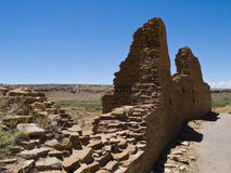 Indian's ruins. The ruins located in New Mexico, at Indian's reservation Stock Photos