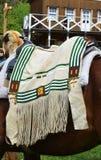 Indian saddle Stock Image