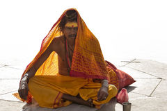 Indian Sadhu Stock Photography