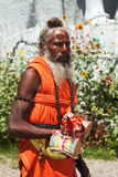 Indian sadhu Stock Image