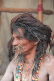 Indian sadhu. Stock Photo