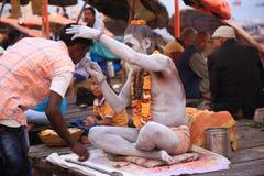 Indian sadhu Royalty Free Stock Photos