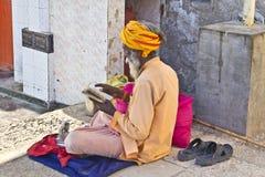 Indian sadhu Stock Photos