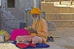 Indian sadhu Royalty Free Stock Photo