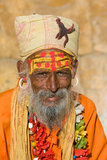 Indian sadhu (holy man) Stock Images