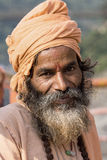Indian sadhu (holy man). Stock Photo