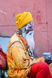 Indian Sadhu Royalty Free Stock Photos